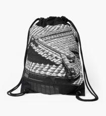 Dogo Onsen Roof Drawstring Bag
