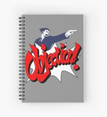 Objection Spiral Notebook