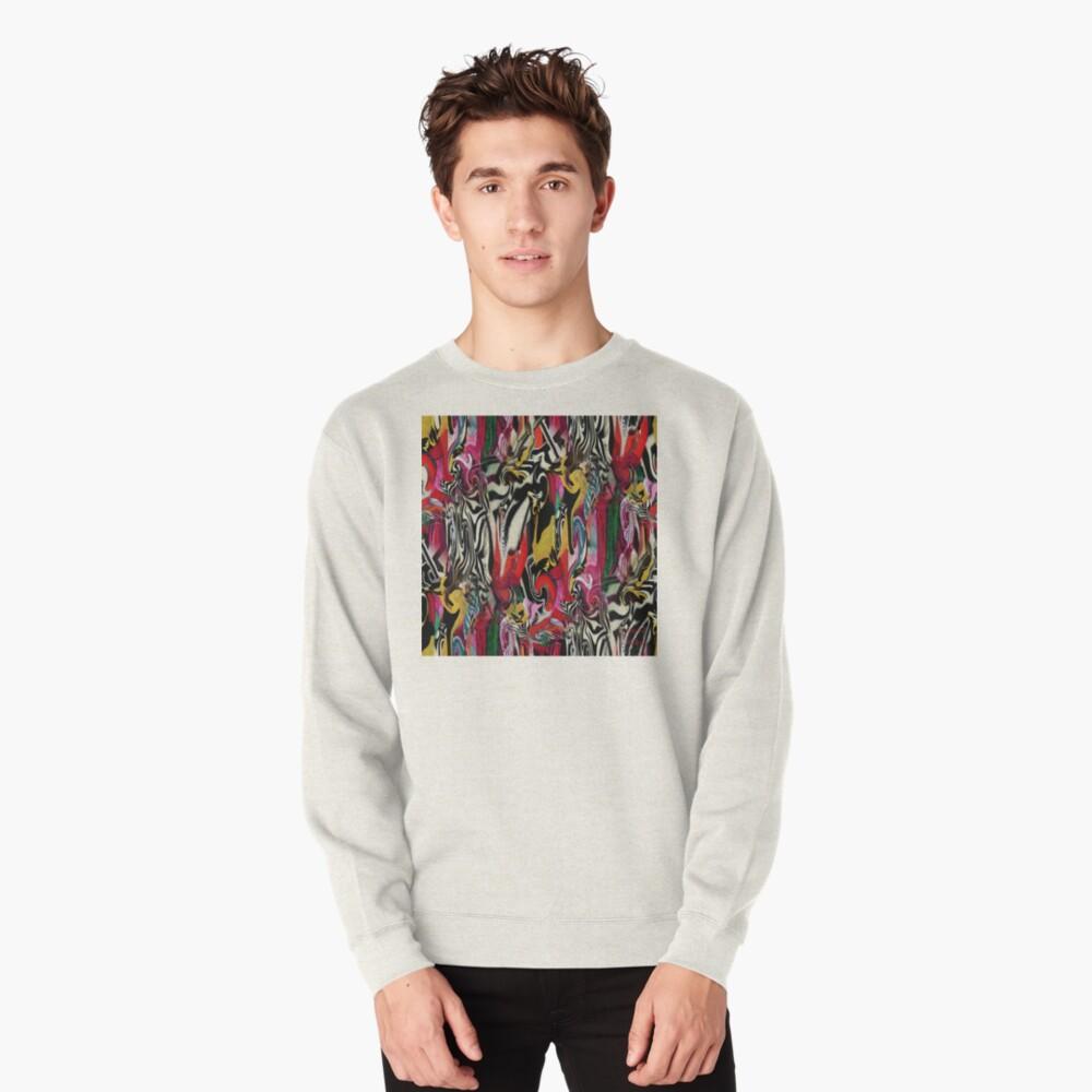 Zebra Dream Pullover Sweatshirt