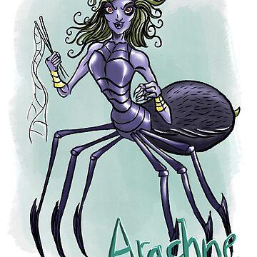 Arachne illustration by Extreme-Fantasy