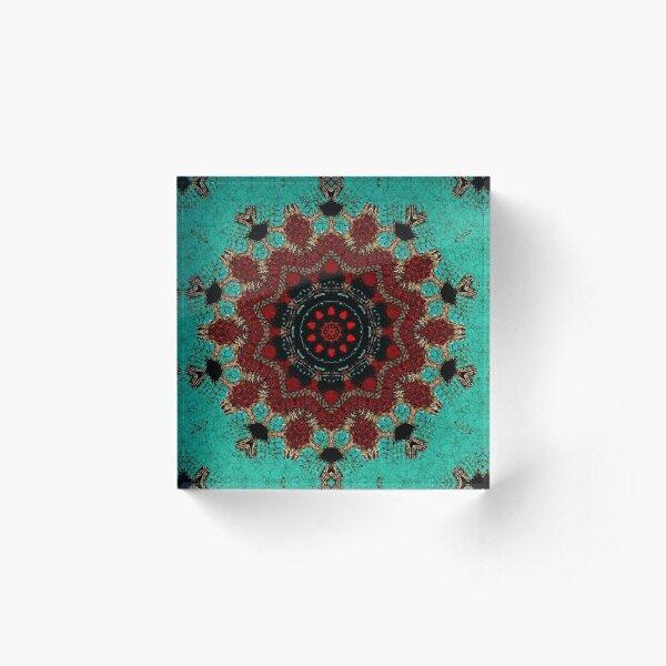 Santa Fe Spirit Mandala Acrylic Block