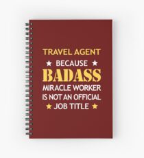 Travel Agent Spiral Notebooks | Redbubble