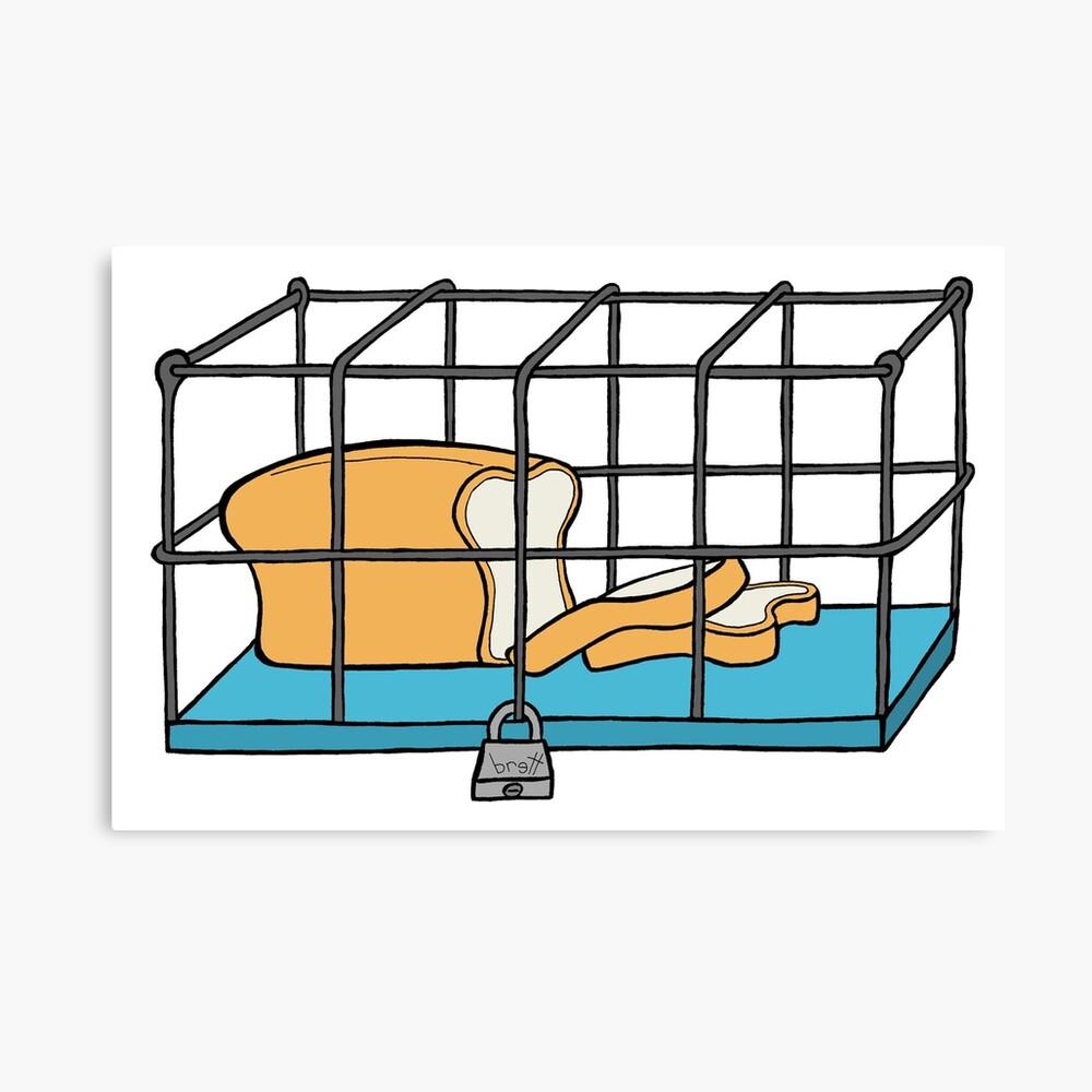 Bread in Captivity Canvas Print