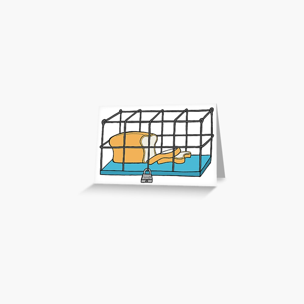 Bread in Captivity Greeting Card