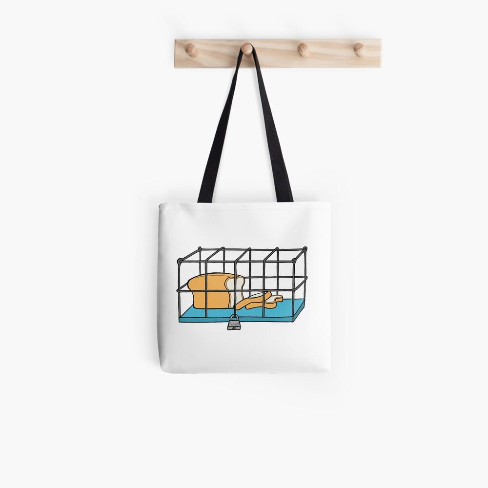 Bread in Captivity Tote Bag