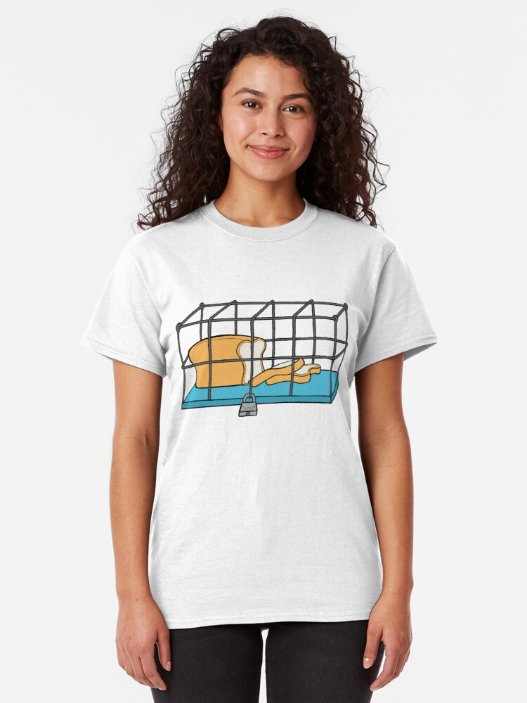 Alternate view of Bread in Captivity Classic T-Shirt