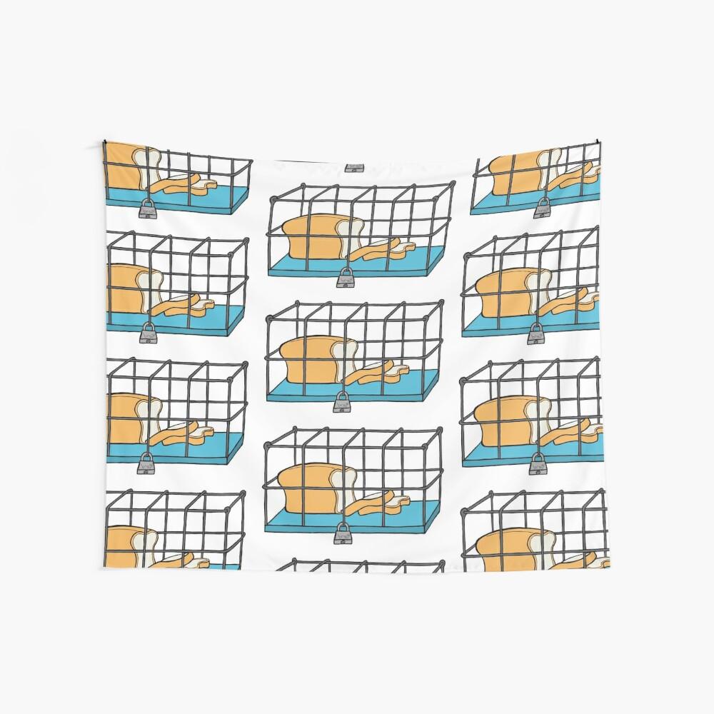 Bread in Captivity Wall Tapestry