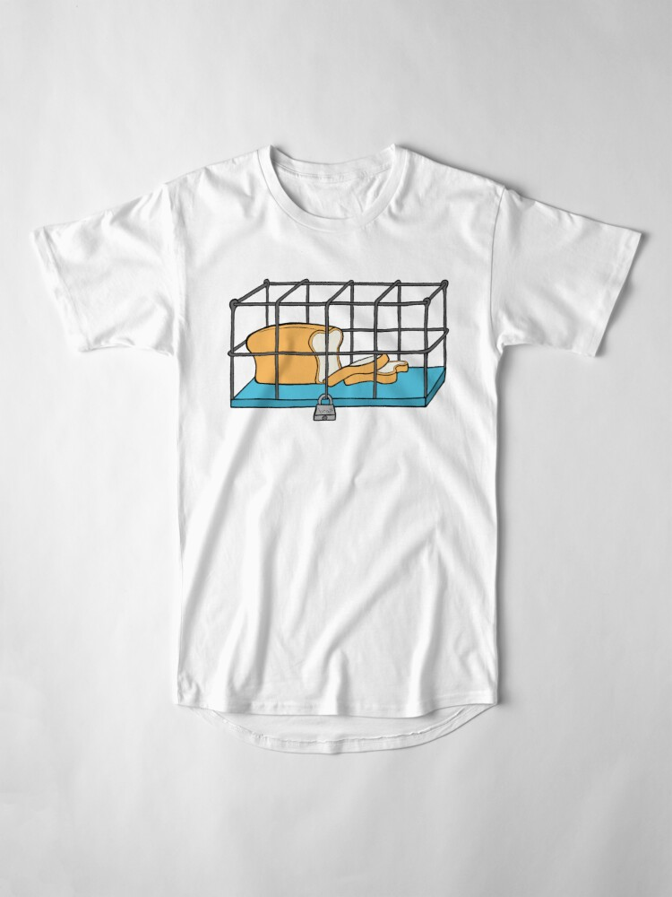 Alternate view of Bread in Captivity Long T-Shirt