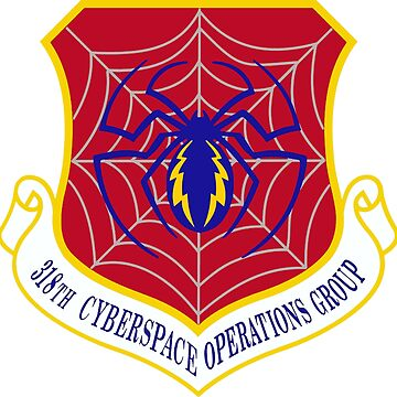 318th Cyberspace Operations Group Logo by Quatrosales