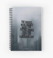 Cuaderno de espiral Arctic Monkeys