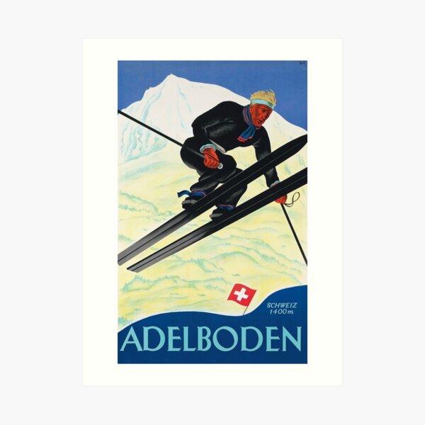 Adelboden Art Print