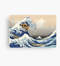 The Great Cookies off Kanagawa Canvas Print
