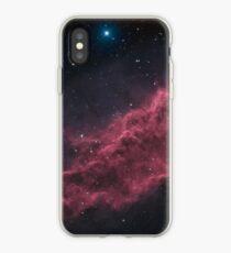 NGC 1499 The California Nebula HAOIIRGB iPhone Case