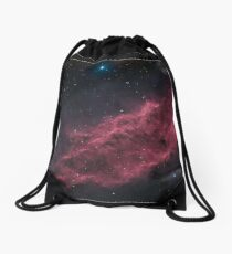 NGC 1499 The California Nebula HAOIIRGB Drawstring Bag