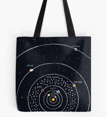 Sonnensystem Tote Bag