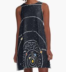 Solar System A-Line Dress