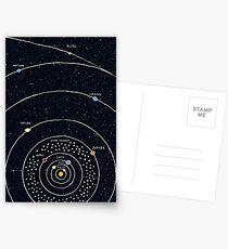 Solar System Postcards