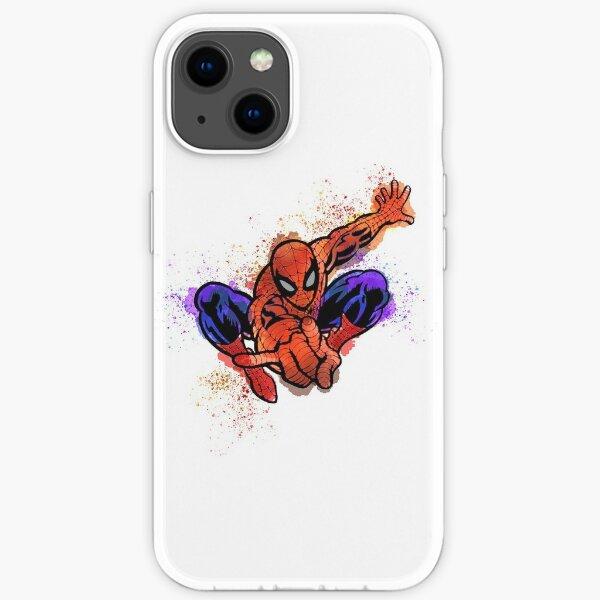 spider splat iPhone Soft Case