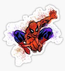 spider splat Sticker