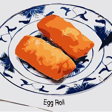 Two Egg Rolls. by Claudiocmb