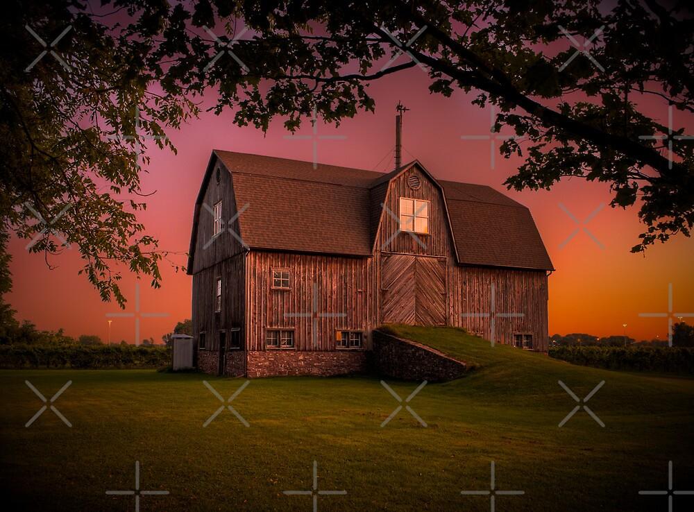 Port Dalhousie Barn by (Tallow) Dave  Van de Laar
