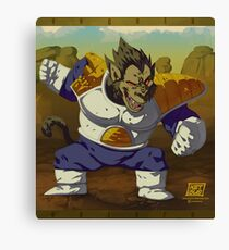 Ozaru Vegeta Canvas Print