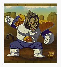 Ozaru Vegeta Photographic Print