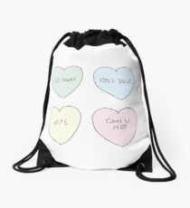 Sassy Hearts Drawstring Bag