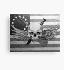 Betsy Ross Recon Jack B&W Canvas Print