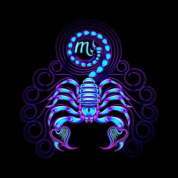 Scorpio Neon by DisobeyTees