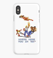 Rage in 1992 iPhone Case
