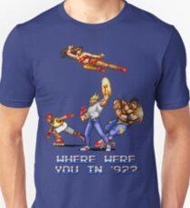 Rage en 1992 T-shirt ajusté