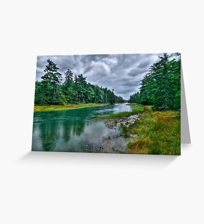 Serenity Before Storm - Maine Greeting Card