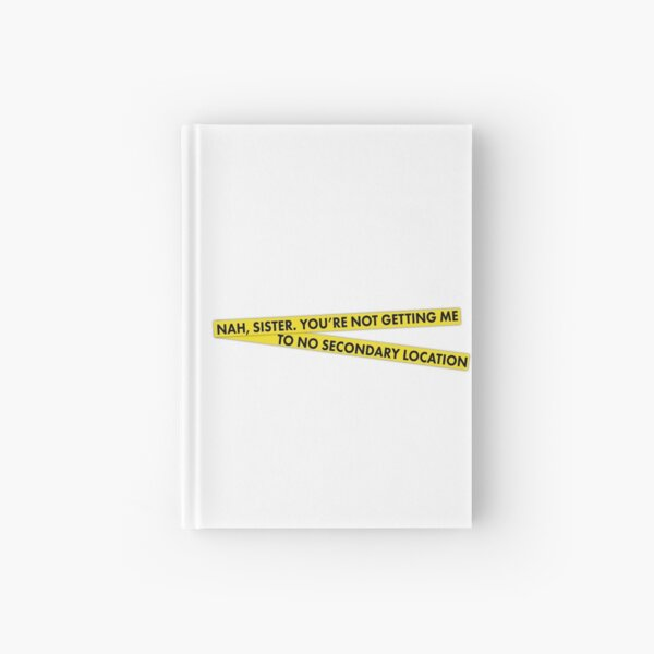 Secondary Location Hardcover Journal
