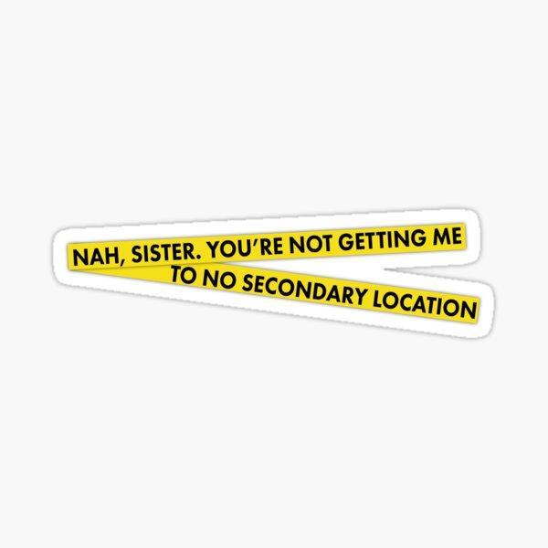 Secondary Location Sticker
