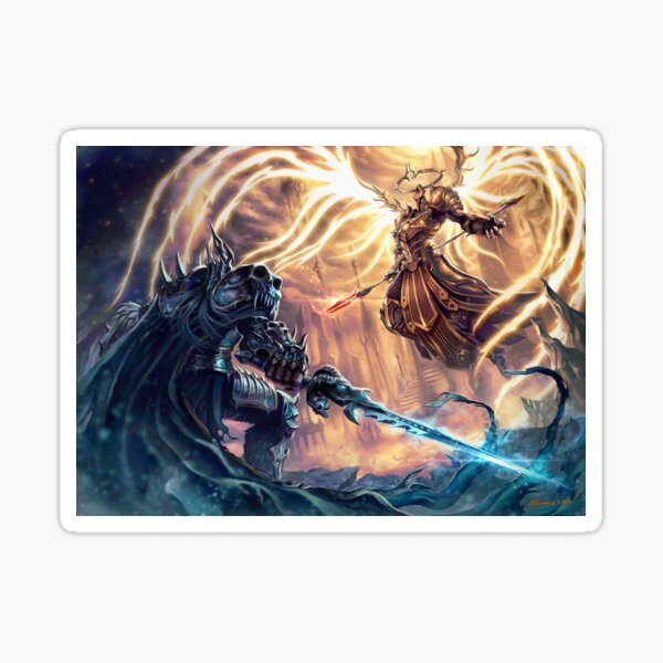 Wrathful Warriors Sticker