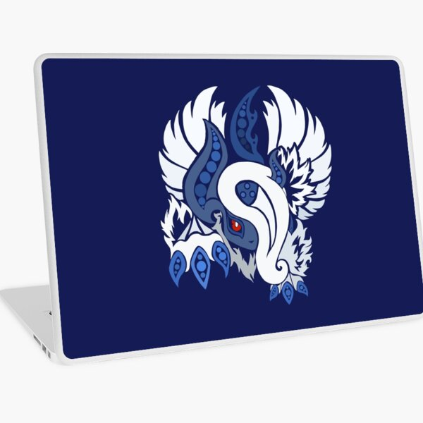 Mega Absol - Yin and Yang Evolved! Laptop Skin