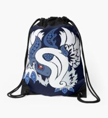 Mega Absol - Yin and Yang Evolved! Drawstring Bag