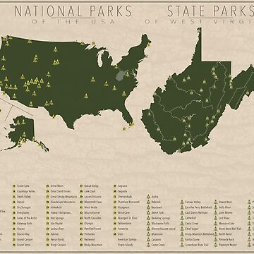 US National Parks - West Virginia by FinlayMcNevin