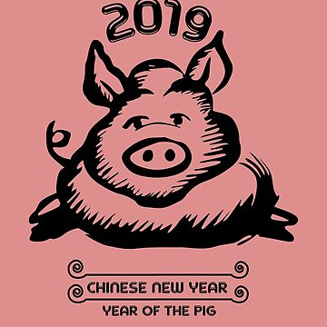 Year of the Pig 2019 by Natalia-Art