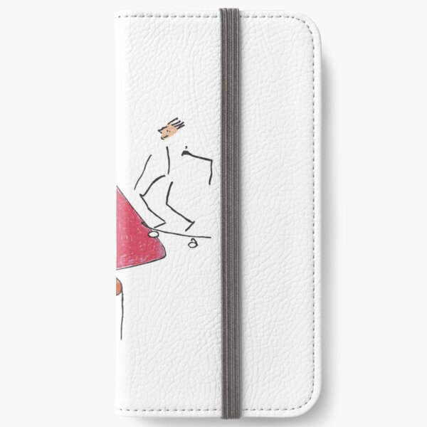A gangster, a skater and three one-legged iPhone Wallet