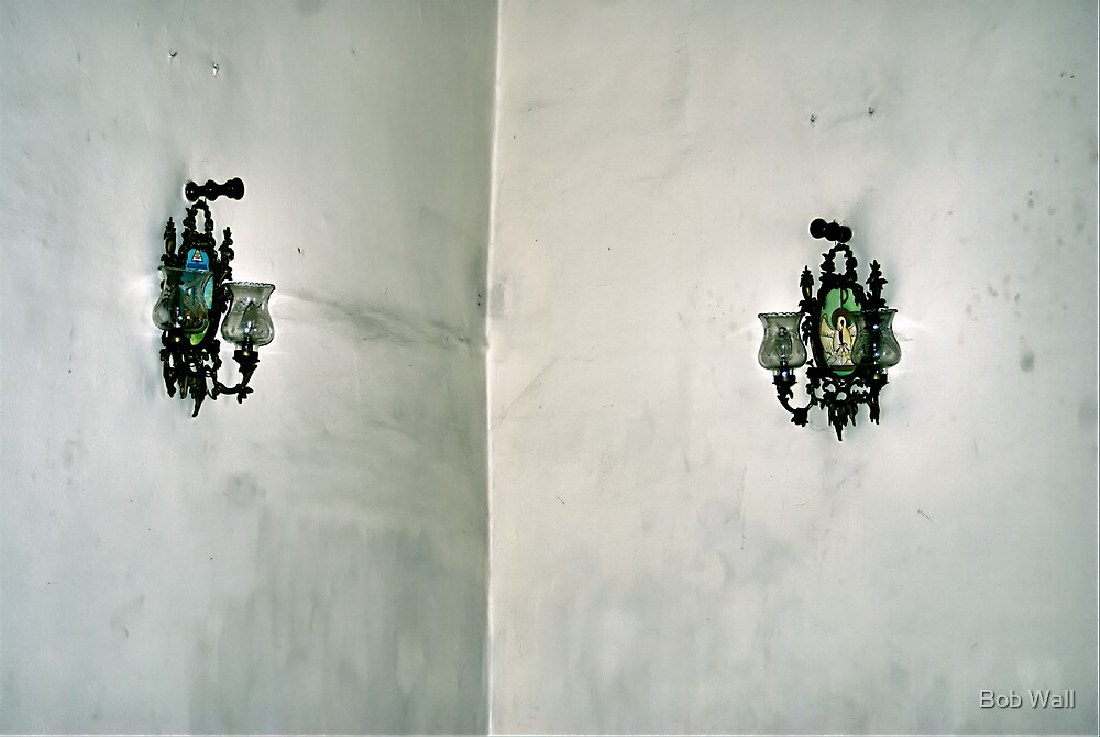 Sconces in the Corner by Bob Wall