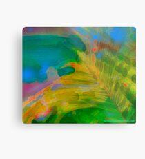 Abstract Palm Art Metal Print