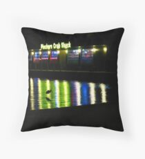 Pinchers Palette and Watercolors Throw Pillow