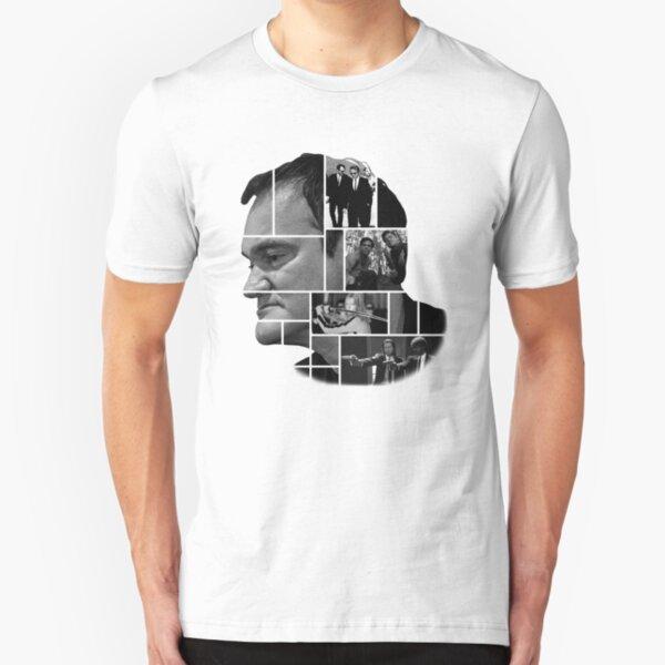 Quentin Tarantino collage Camiseta ajustada