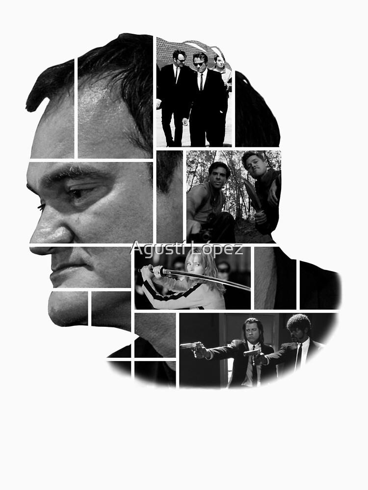 Quentin Tarantino collage de AgustiLopez