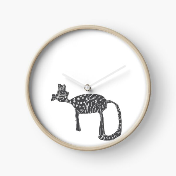 Cats love Clock