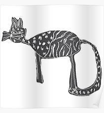 Katzen Liebe Poster