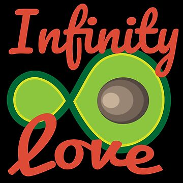 Avocado Infinity Love Partner Couple - Gift idea by vicoli-shirts