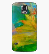 Abstract Palm Art Case/Skin for Samsung Galaxy